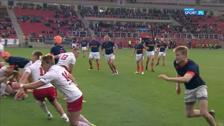 No-look pass w rugby? Holendrzy zaczarowali w meczu z Polską