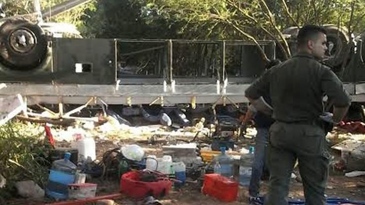 Argentyna: autobus spadł w przepaść. Zginęło 43 żandarmów