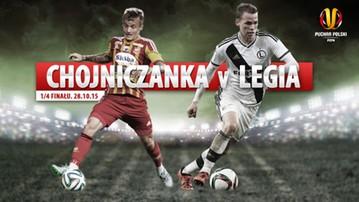 2015-10-28 Puchar Polski: Chojniczanka - Legia. Transmisja w Polsacie Sport