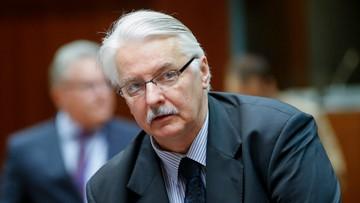 """28-05-2016 11:58 """"Rząd nie podejmie żadnych kroków w kierunku wyjścia Polski z UE"""". Szef MSZ w """"Die Welt"""""""