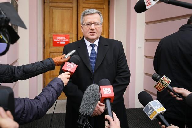 Bronisław Komorowski ponownie liderem rankingu zaufania