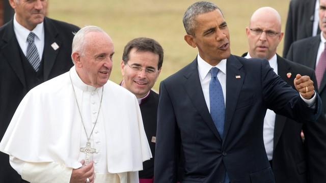 Papież Franciszek przybył z pierwszą w życiu wizytą do USA