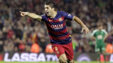 2015-10-25 Hattrick Suareza z Eibar! FC Barcelona dopisała sobie trzy punkty