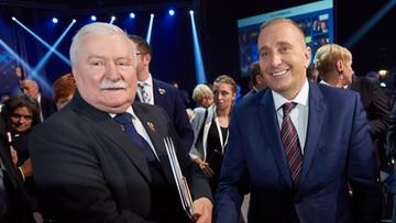 """06-10-2016 19:38 Wałęsa porównał Schetynę do Kaczyńskiego. """"Wybrał pisowski wariant"""""""