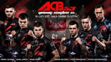 2017-02-18 ACB 53: Zwycięstwa Zielińskiego, Strusa, Celińskiego w Olsztynie