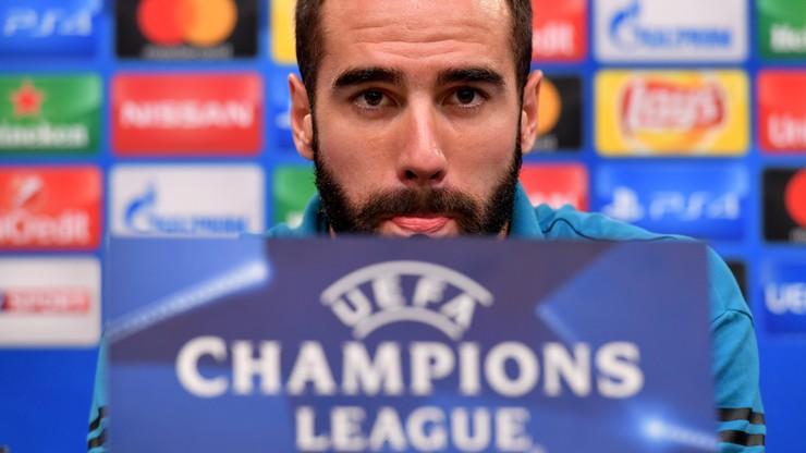 Liga Mistrzów: Carvajal zawieszony na mecz 1/8 finału