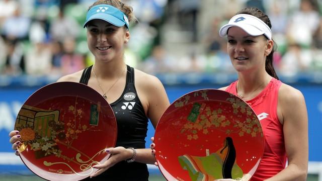 Turniej WTA w Tokio - A. Radwańska pokonała w finale Bencic