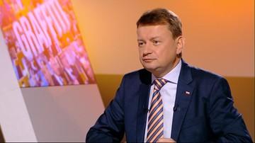 """08-09-2016 09:32 """"Eurokraci nie wyciągają wniosków z Brexitu"""". Błaszczak o projekcie rezolucji PE ws. Polski"""