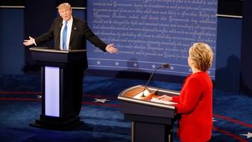 27-09-2016 09:03 Trump zgasł po 30 minutach. Komentarze po debacie