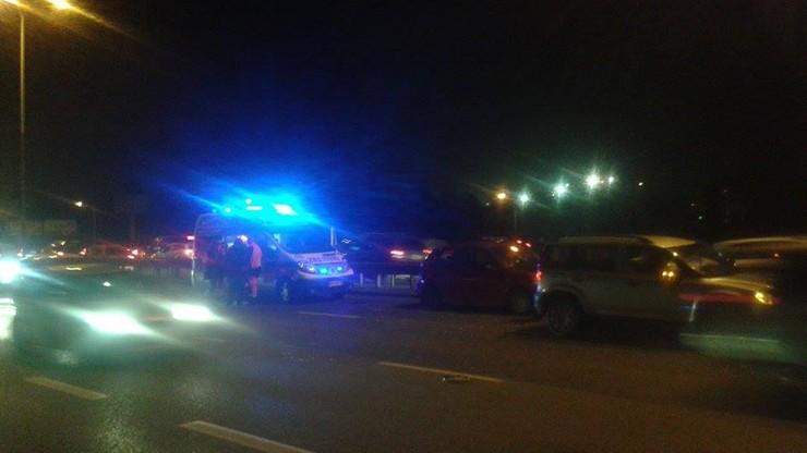 2015-12-10 Wypadek w Alejach Jerozolimskich w Warszawie