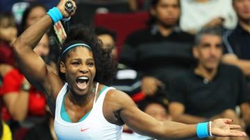 2015-12-08 Serena Williams kolejny raz tenisistką roku WTA