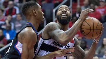 2016-12-19 NBA: Dziewięć punktów Gortata, trzecie z rzędu zwycięstwo Wizards
