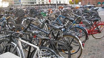 W Kopenhadze więcej rowerów niż samochodów