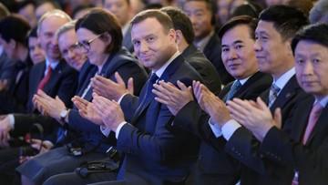 24-11-2015 05:32 Prezydent Duda: Chciałbym wielkiej intensyfikacji współpracy z Chinami