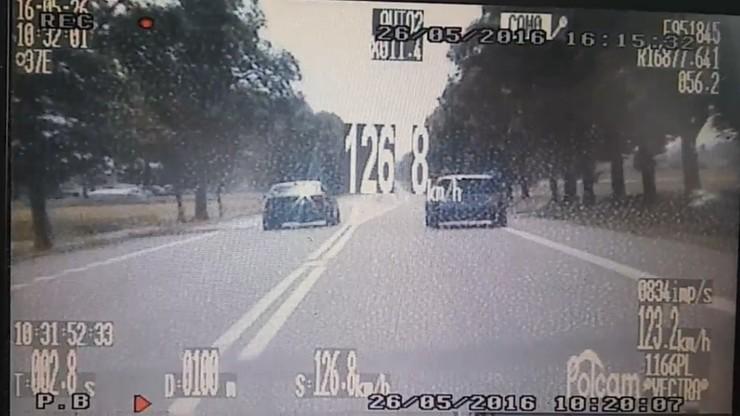 """Jechał 170 km/h i wyprzedzał na podwójnej ciągłej - """"bo żona urodziła"""""""