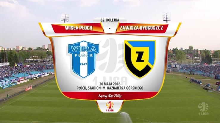 2016-05-20 Wisła Płock - Zawisza Bydgoszcz 5:0. Skrót meczu