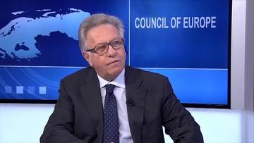 """17-01-2017 20:17 """"To nie opozycja przekonała mnie do publikacji zastrzeżeń ws. Polski"""" - szef Komisji Weneckiej"""