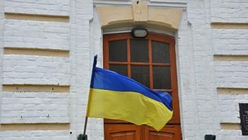 Ukraina: antypolskie napisy na domu z muralem Jana Pawła II