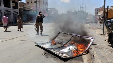 15-03-2016 20:27 Jemen: co najmniej 41 cywili zabitych w nalotach koalicji na targowisko
