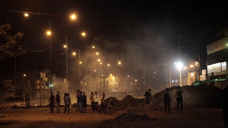 Protesty przeciwko prezydentowi Wenezueli. Już pięć osób nie żyje