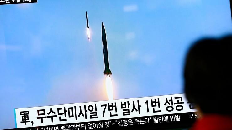 Korea Płn. : nieudana próba wystrzelenia pocisku balistycznego