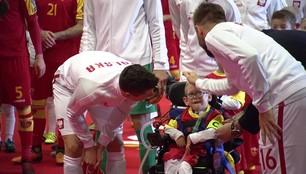 Mały bohater meczu. Sześcioletni Franek spełnił swoje największe marzenie