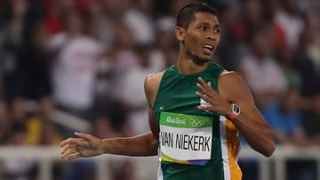 2017-04-19 Lekkoatletyczne MŚ: Program zawodów będzie ułożony dla Van Niekerka