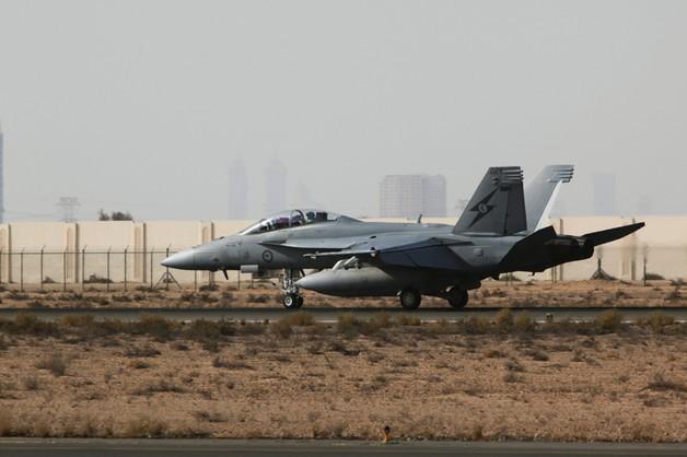 Australijczycy i Belgowie bombardują dżihadystów