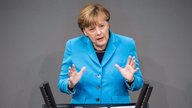 Merkel apeluje znów o uczciwy podział uchodźców w UE
