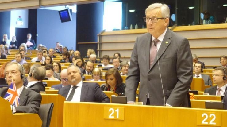 """""""Dziwię się, że jeszcze tu jesteście"""". Nadzwyczajna sesja PE ws. Brexitu"""