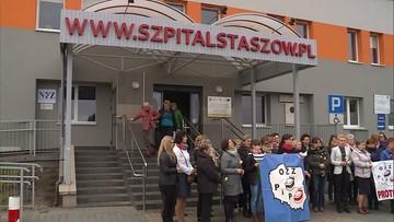"""04-04-2017 17:03 """"Zostałyśmy zlekceważone"""". Pielęgniarki ze szpitala w Staszowie w środę wznawiają protest"""