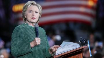 01-11-2016 06:17 Clinton znała pytania, jakie miały być zadane podczas debat