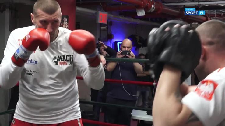 Wach vs Miller: Trening