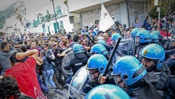 27-05-2017 21:44 Na Sycylii protestujący przeciwko szczytowi G7 starli się z policją