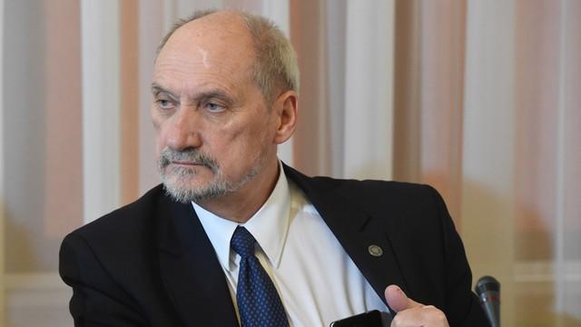 Macierewicz: obrona terytorialna formowana od września