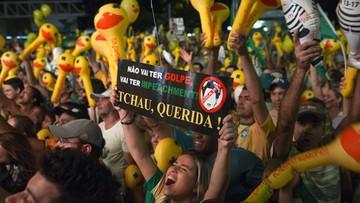 18-04-2016 06:02 Prezydent Brazylii coraz bliżej utraty urzędu. Parlamentarzyści za impeachmentem dla Roussef