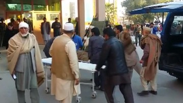 Zamach na pogrzebie polityka w Afganistanie. Co najmniej 17 ofiar
