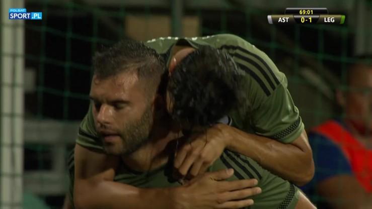 2016-07-27 AS Trencin - Legia Warszawa 0:1. Gol Nikolica