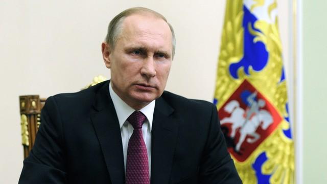 Rosja: Putin potępił zamachy terrorystyczne w Brukseli