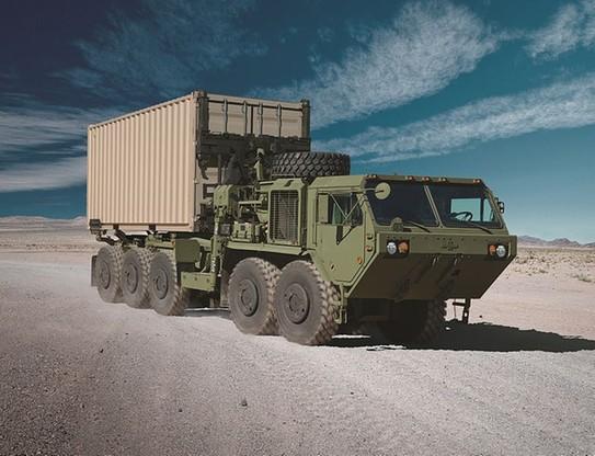 Ciężki ciężarowy samochód taktyczny HEMTT (Heavy Expanded Mobility Tactical Truck) produkowany przez amerykańską firmę Oshkosh Corporation.