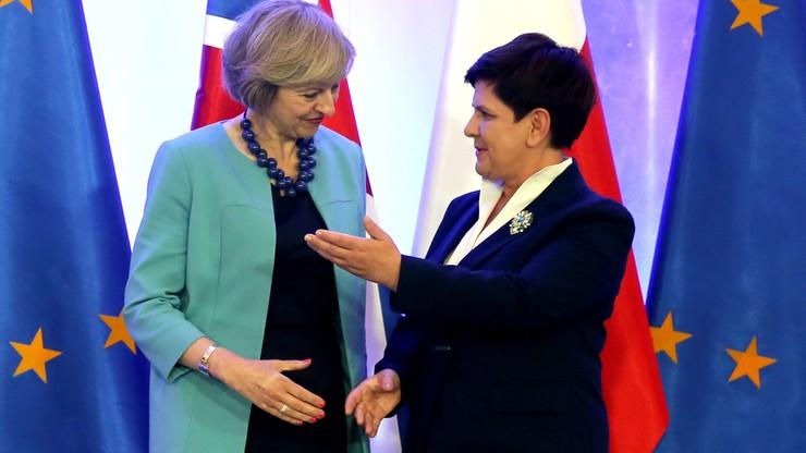 Brytyjczyk tak Unii, jak Unia Brytyjczykowi. Po spotkaniu premier Szydło z Theresą May