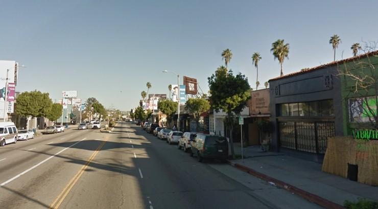 Wypadek w Los Angeles. Samochód wjechał w restauracyjny ogródek
