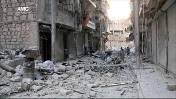 18-10-2016 10:30 Siły rosyjskie i syryjskie wstrzymują naloty na Aleppo