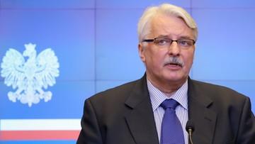 09-05-2016 17:39 Szef MSZ o kolejnej kadencji Tuska: będziemy popierać Polaków na stanowiskach międzynarodowych