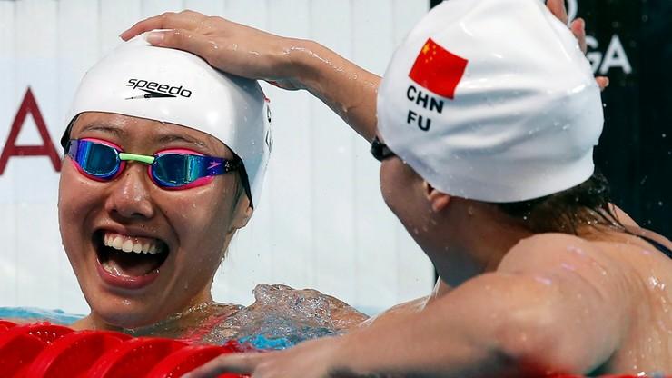 Rio 2016: Chińska pływaczka długo nie wiedziała, że zdobyła medal! (WIDEO)