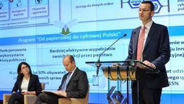 20-06-2016 18:25 Zamiast w urzędzie sprawy załatwimy przez internet - przedstawiono plan cyfryzacji Polski
