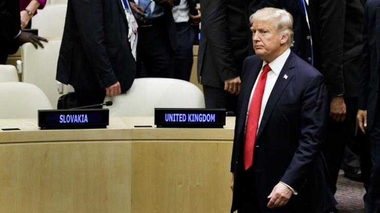 """Donald Trump krytykuje ONZ za """"biurokrację i złe zarządzanie"""""""