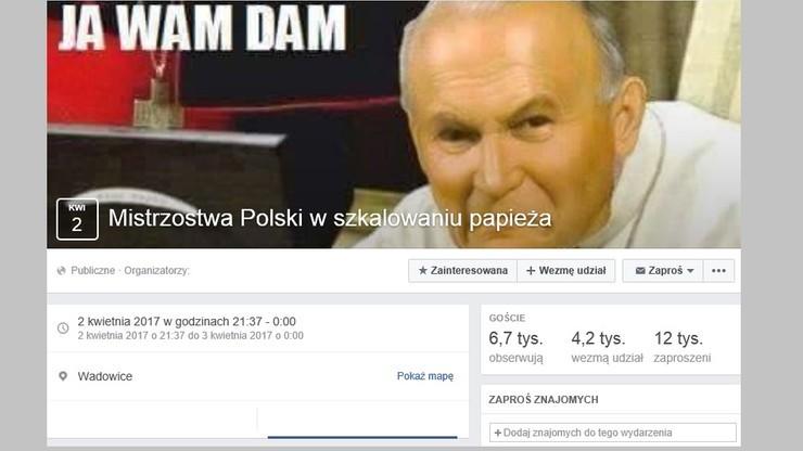 Memy szkalujące św. Jana Pawła II – prokuratura odmówiła wszczęcia śledztwa