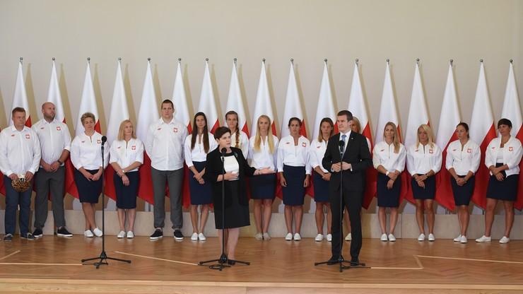 Szydło do polskich medalistów: przynosicie nam dumę i radość