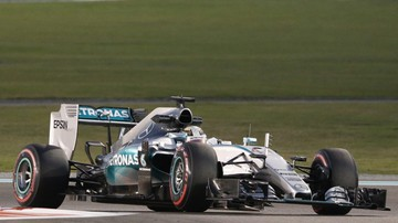 2015-11-27 GP Abu Zabi: Hamilton i Rosberg najszybsi na treningu